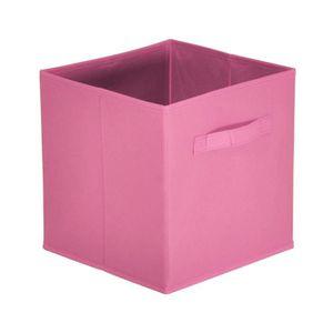 panier rangement tissu achat vente panier rangement tissu pas cher cdiscount. Black Bedroom Furniture Sets. Home Design Ideas
