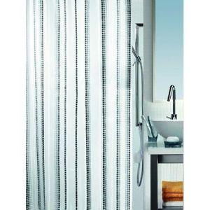 Spirella rideau de douche murino grey achat for Laver rideau de douche plastique machine