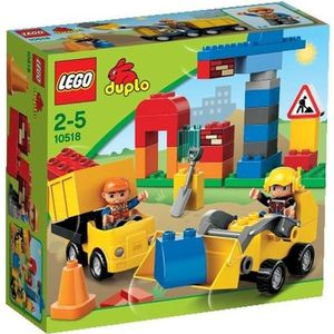 ASSEMBLAGE CONSTRUCTION LEGO® DUPLO 10518 Mon premier Chantier