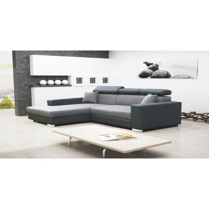 Angle convertible mexico luxe achat vente canap sofa divan cdiscount - Canape convertible luxe et confort ...
