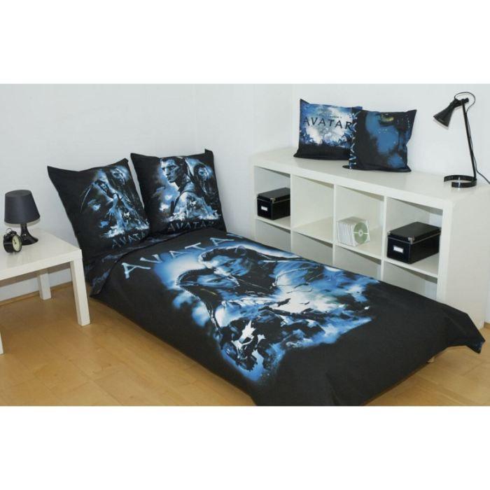 avatar parure de lit neytiri and jake sully 1 achat vente parure de couette cdiscount. Black Bedroom Furniture Sets. Home Design Ideas