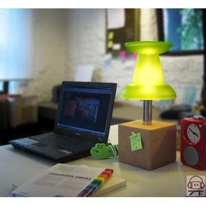 lampe de bureau punaise vert achat vente ampoule led soldes d t cdiscount. Black Bedroom Furniture Sets. Home Design Ideas