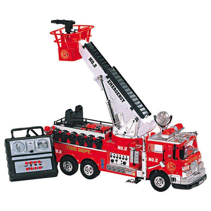 k camion de pompier radiocommande