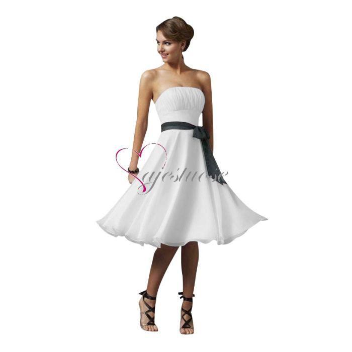 Pour choisir une robe petite robe blanche pas chere for Robe de cocktail de mariage blanche