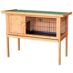 cage lapin en bois achat vente cage lapin en bois pas. Black Bedroom Furniture Sets. Home Design Ideas