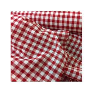 Tissu vichy achat vente tissu vichy pas cher cdiscount - Tissus rouge pas cher ...