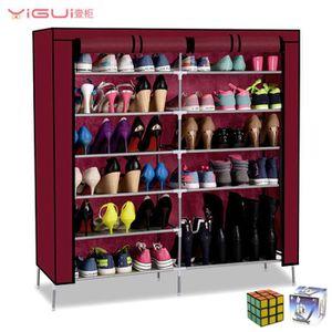 meuble penderie et chaussure achat vente meuble penderie et chaussure pas cher cdiscount. Black Bedroom Furniture Sets. Home Design Ideas