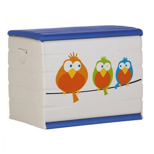 Coffre a jouets plastique 260l oiseaux achat vente coffre jouets 2009908801519 soldes d - Coffre a jouet plastique ...