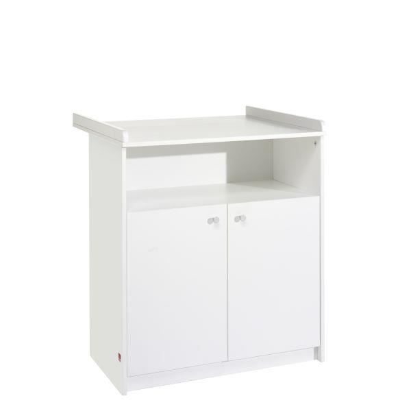 Commode langer b b classique blanche achat vente for Commode table a langer blanche