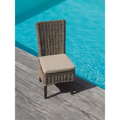 Chaises rotin soldes images for Chaise rotin tresse