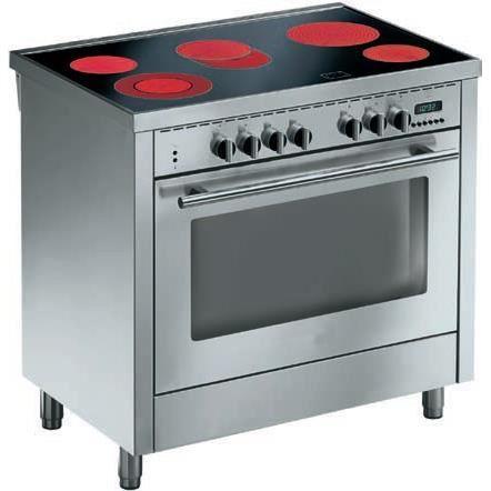 Cuisini re vitro 5 foyer radiant classe ne achat vente cuisini re - Cuisiniere piano 90 cm ...