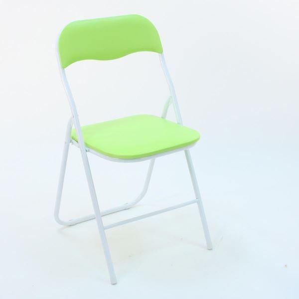 Lot de 4 chaises pliantes trend vert achat vente - Lot de chaises pliantes ...