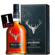 WHISKY BOURBON SCOTCH Dalmore 15 ans 40° 1 litre