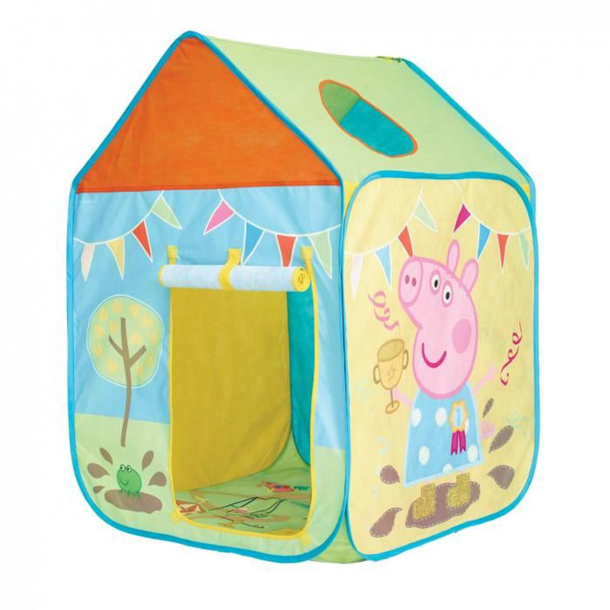 tente cabane de jeux maison fille peppa pig peppa cochon flaque de boue achat vente tente. Black Bedroom Furniture Sets. Home Design Ideas