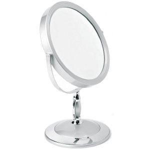 miroir ovale sur pied pour maquillage achat vente. Black Bedroom Furniture Sets. Home Design Ideas