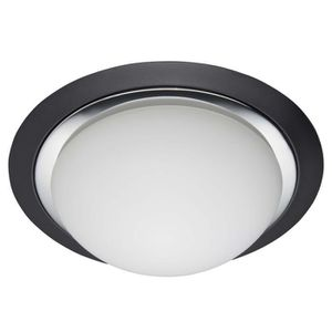 plafonnier noir et blanc achat vente plafonnier noir et blanc pas cher cdiscount. Black Bedroom Furniture Sets. Home Design Ideas