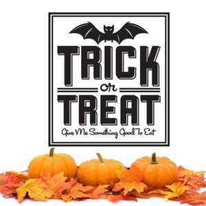 STICKERS GETEK® batte de Halloween sticker mural décor mura