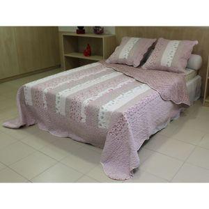 couvre lit matelasse 220x240cm achat vente couvre lit matelasse 220x240cm pas cher soldes. Black Bedroom Furniture Sets. Home Design Ideas