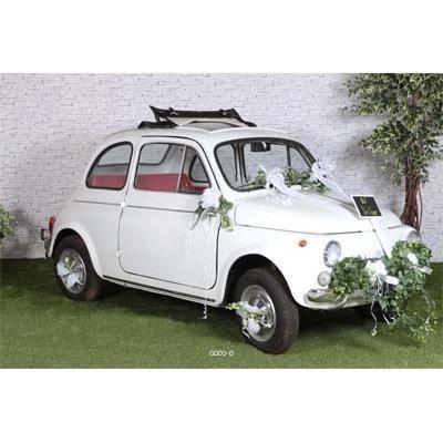 Kit decoration mariage pour voiture complet tou achat for Decoration maison voiture