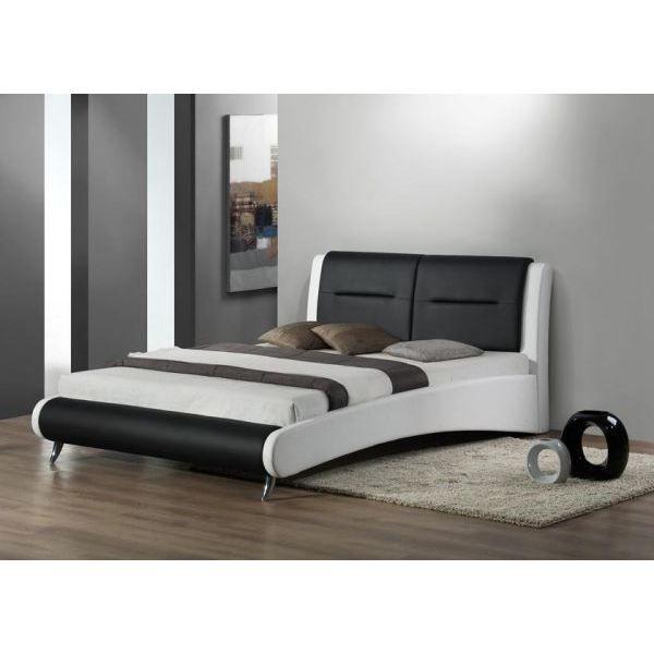 lit design sommier 160 x 200 achat vente structure de. Black Bedroom Furniture Sets. Home Design Ideas