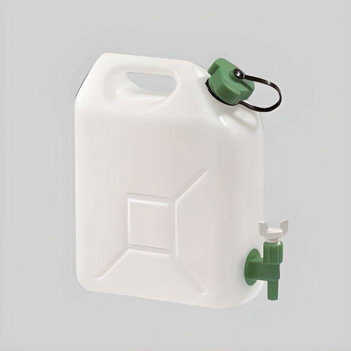 jerrican alimentaire 10 litres avec bouchon et rob achat. Black Bedroom Furniture Sets. Home Design Ideas