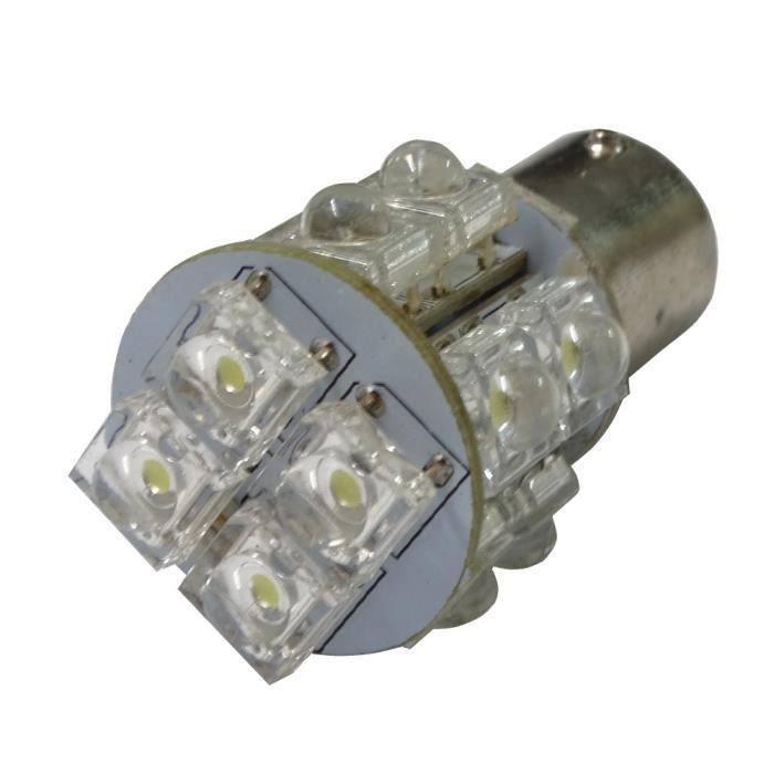 aerzetix ampoule 12v p21 5w 14 led pour auto voiture utilitaire achat vente phares. Black Bedroom Furniture Sets. Home Design Ideas