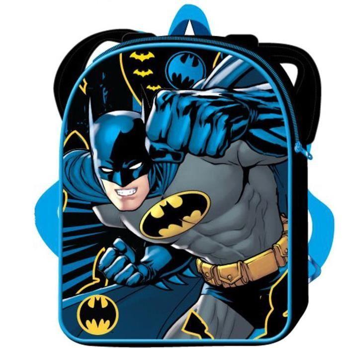 comic officiel dc comics enfants classique batman cole sac dos bleu noir achat vente sac