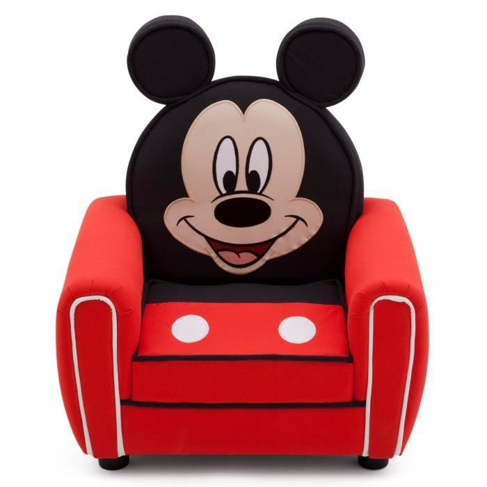 mickey fauteuil enfant achat vente fauteuil canap b b soldes cdiscount. Black Bedroom Furniture Sets. Home Design Ideas