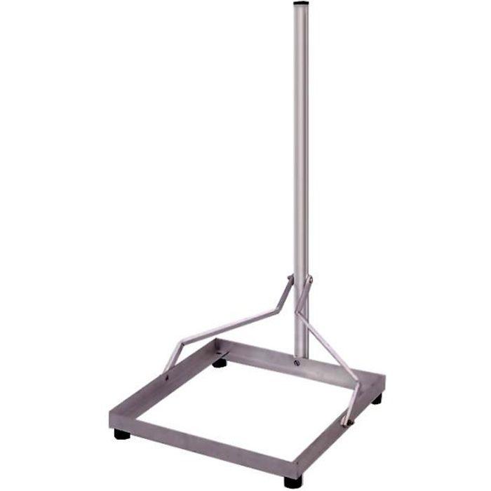 chassis acier support parabole pour terrasse b prix. Black Bedroom Furniture Sets. Home Design Ideas