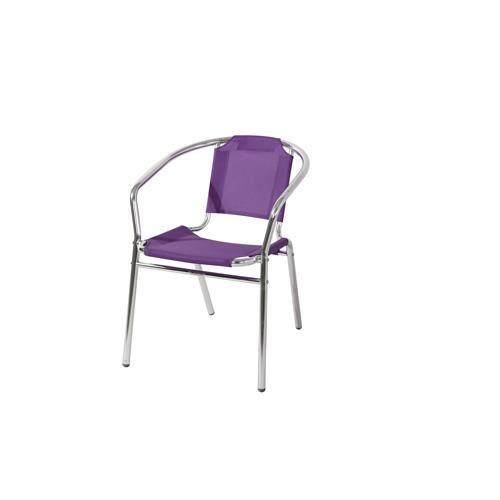 Fauteuil d 39 ext rieur ciudella violet achat vente for Fauteuil d exterieur