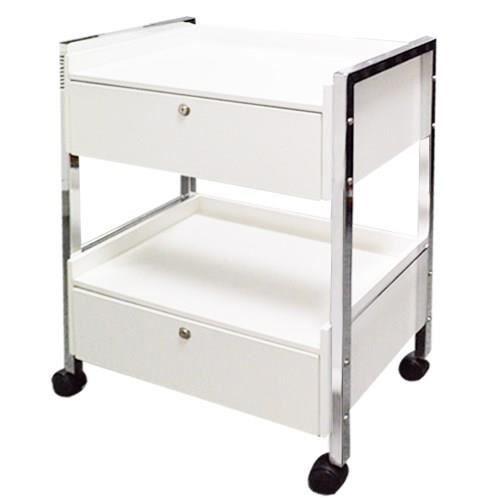 table esthetique kentuky 2 tiroirs nancy beaute achat vente caisson de bureau table. Black Bedroom Furniture Sets. Home Design Ideas