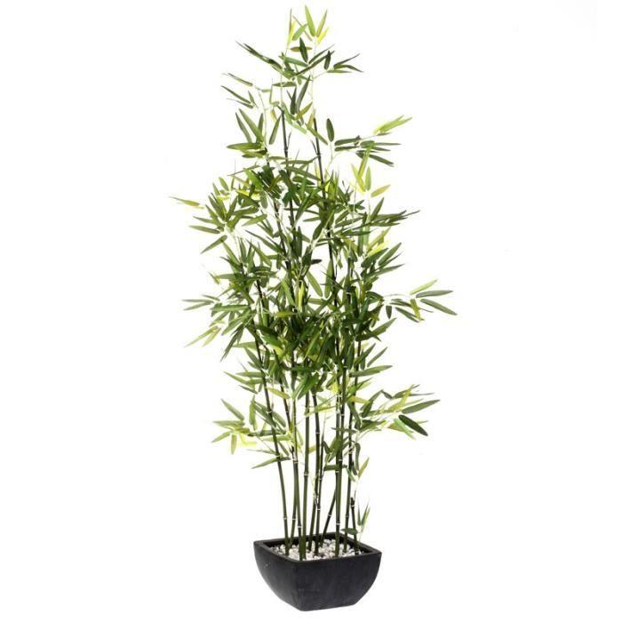 Paris prix plante artificielle bambou 122cm achat for Plante artificielle prix