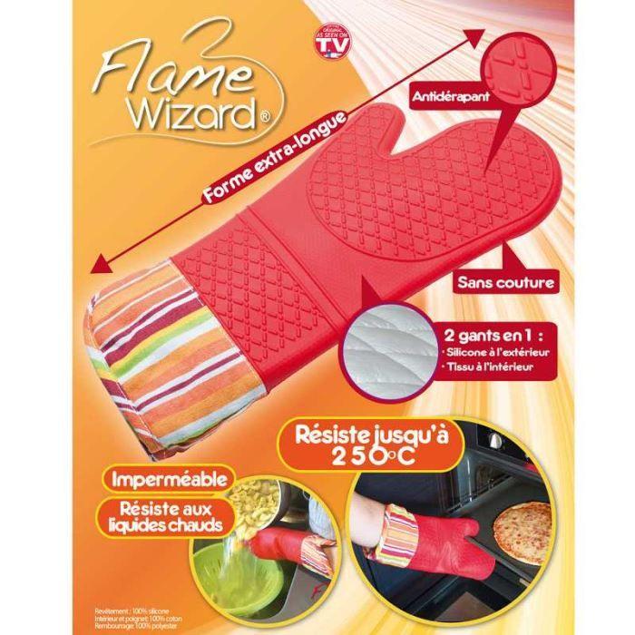 gant anti chaleur en silicone et tissu de forme achat vente gants de cuisine cdiscount. Black Bedroom Furniture Sets. Home Design Ideas