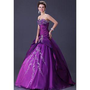 robe de mariee violet achat vente robe de mariee. Black Bedroom Furniture Sets. Home Design Ideas