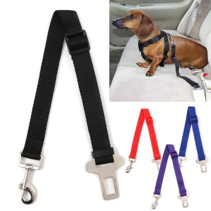 ceinture de s curit rouge harnais de portage voiture pour animaux chien chat bagage achat. Black Bedroom Furniture Sets. Home Design Ideas