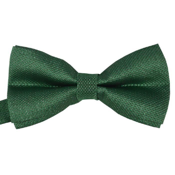 noeud papillon en satin argent vert pour mariage achat vente cravate n ud papillon. Black Bedroom Furniture Sets. Home Design Ideas