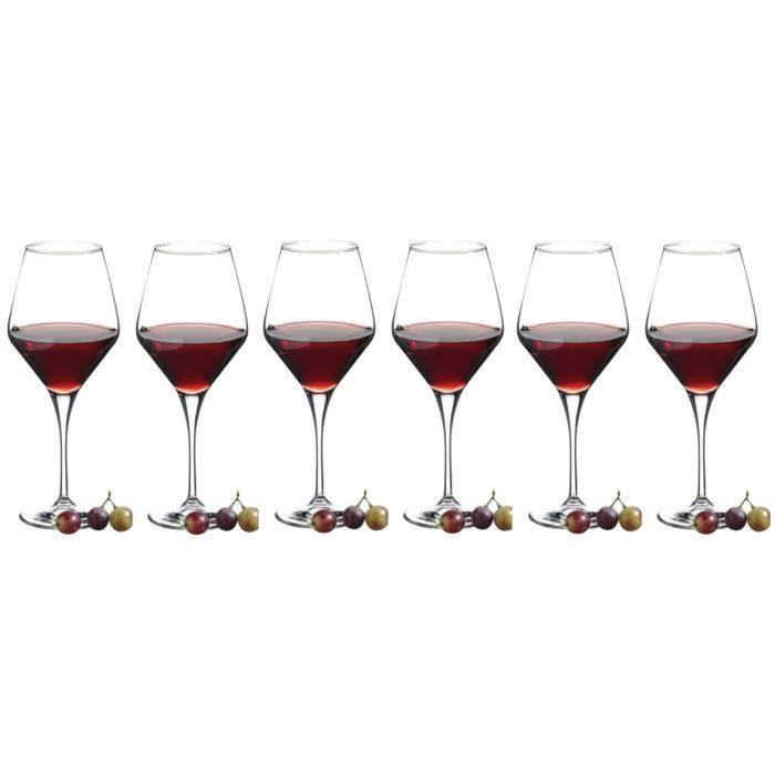 6 verres degustation reverie 50 cl achat vente verre vin cdiscount. Black Bedroom Furniture Sets. Home Design Ideas