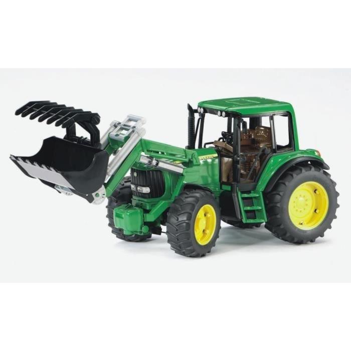 bruder 2052 tracteur john deere 6920 avec fourche 38 cms
