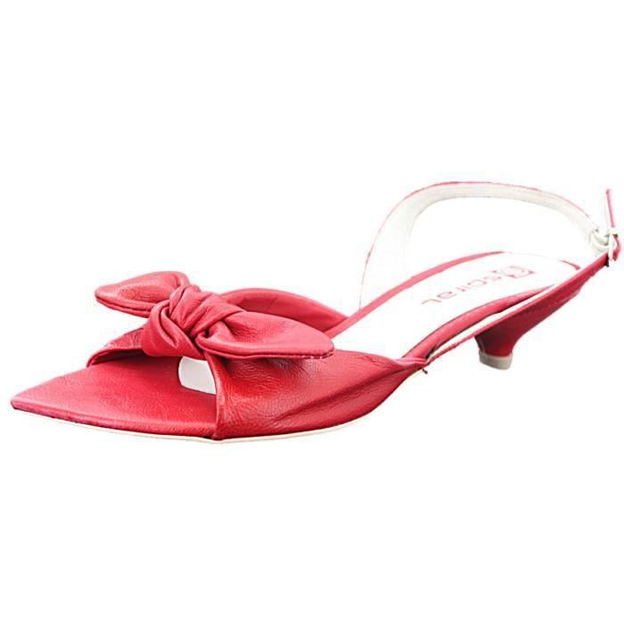spiral sandale rouge avec noeud rouge rouge achat. Black Bedroom Furniture Sets. Home Design Ideas
