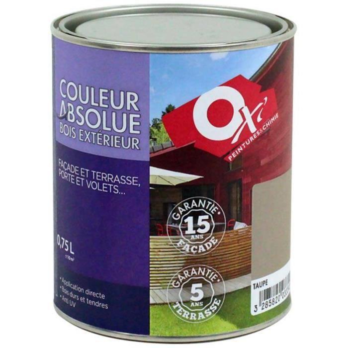 couleur absolue 2 5 litres gris perle achat vente peinture vernis les soldes sur. Black Bedroom Furniture Sets. Home Design Ideas