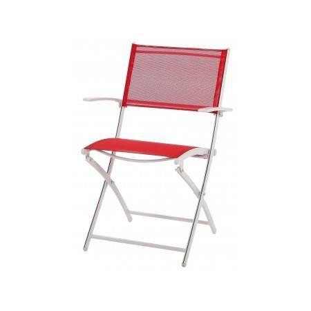 chaise de jardin pliante en aluminum marmaris r achat. Black Bedroom Furniture Sets. Home Design Ideas