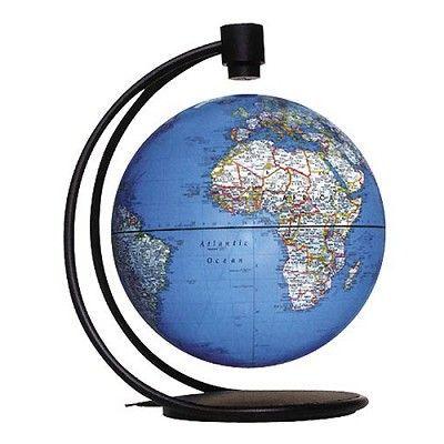 globe magn tique flottant 20 cm bleu achat vente. Black Bedroom Furniture Sets. Home Design Ideas