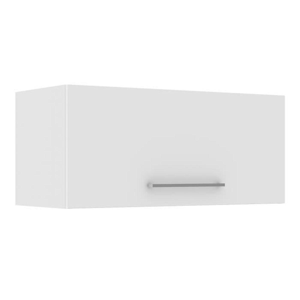 Meuble cuisine haut porte vitre affordable meuble cuisine for Meuble haut porte relevante