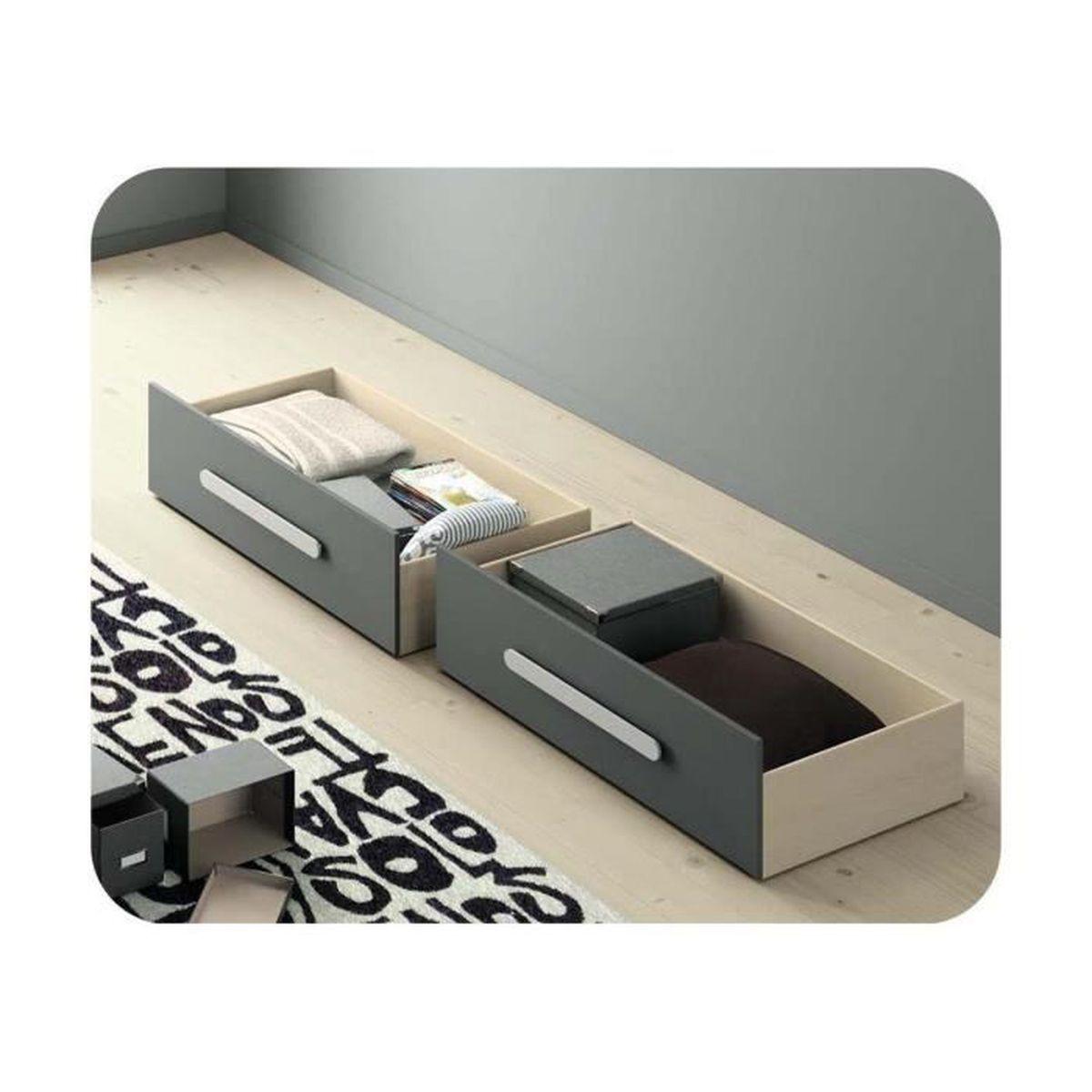 Lit gigogne rangement maison design - Bouteille pour rhum arrange avec robinet ...