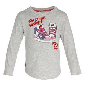 T-SHIRT CHIPIE Tee-Shirt Katoux Manches Longues Fille