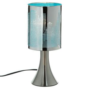 lampe bleu marque atmosphera achat vente lampe bleu marque atmosphera pas cher cdiscount. Black Bedroom Furniture Sets. Home Design Ideas