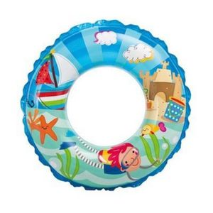 Bouee boue pneumatique enfants diametre 61 cm piscine for Brassard piscine 2 ans