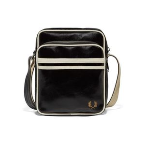 SAC À MAIN SAC FRED PERRY CLASSIC SIDE aille Standard NOIR