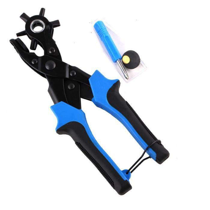 pince pro perforatrice trou cuir ceinture illet bleu achat vente pince de decoupe cdiscount. Black Bedroom Furniture Sets. Home Design Ideas