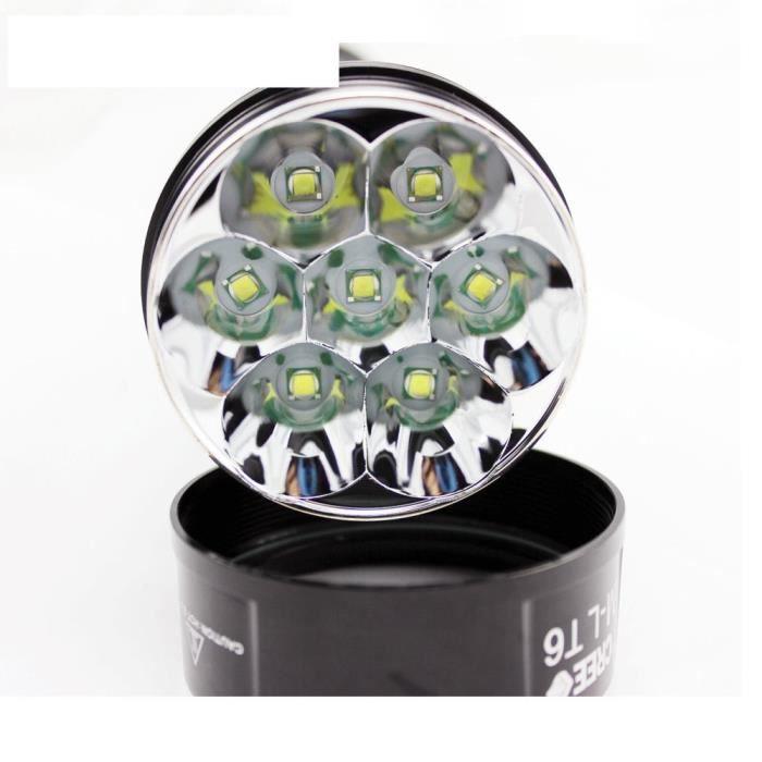 le torche puissante led cree 8000 lumens 7 xt6 extremement puissante neuf achat vente